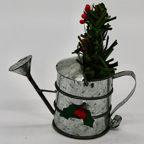 Watering Can with Tree