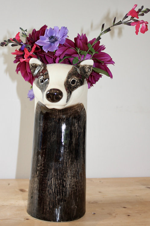 Large Badger Flower Vase