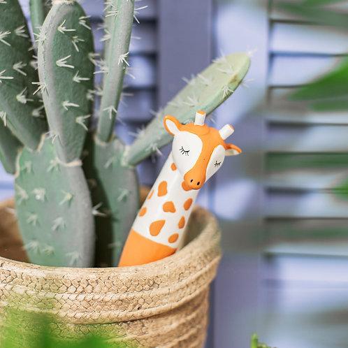 Gina giraffe watering spike