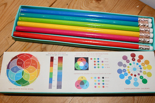 Colour Wheel set of 6 pencils