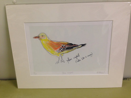 Yellow Wagtail Print