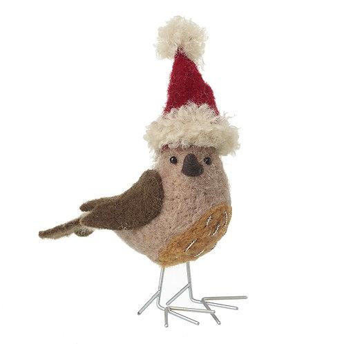 Woolen Standing Robin