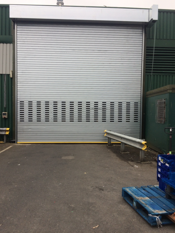 Large Insulated Roller Shutter In Barrow In Furness