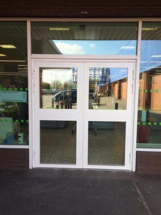 Steel Glazed Doors