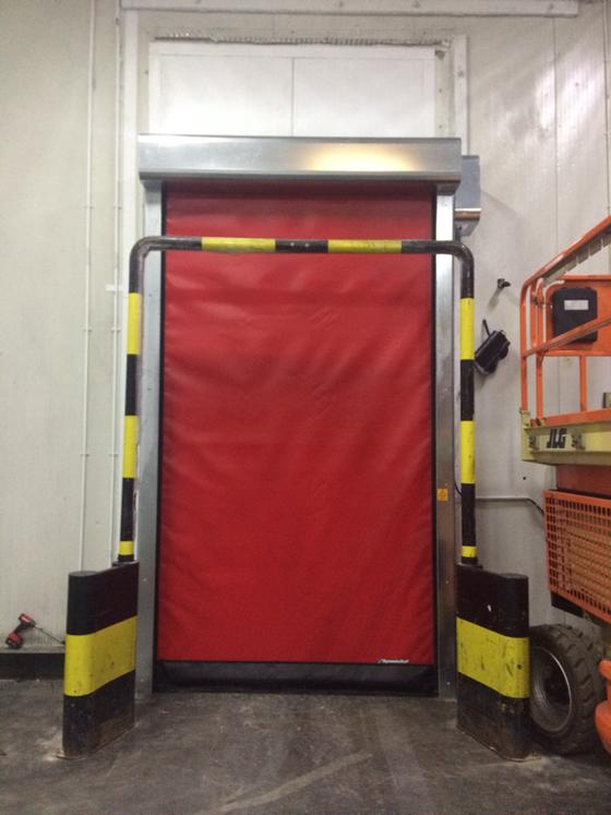 Freezer Rapid Action Doors