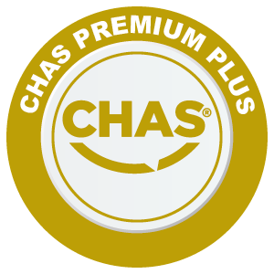 Ace Door Systems go the extra mile with CHAS accreditation PREMIUM PLUS
