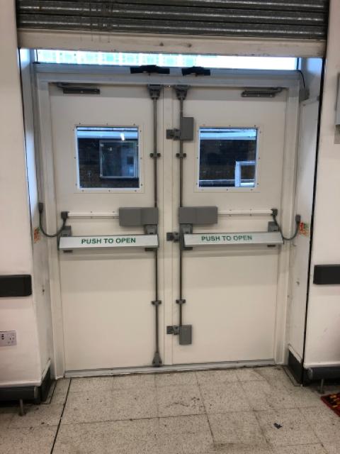 Delayed Egress Door in London