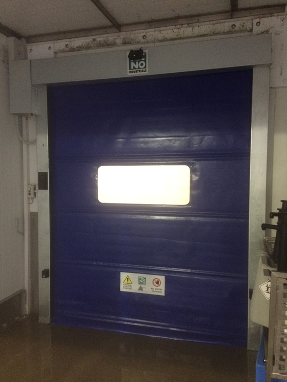 Rapid Action Doors in Food Factory, Spalding