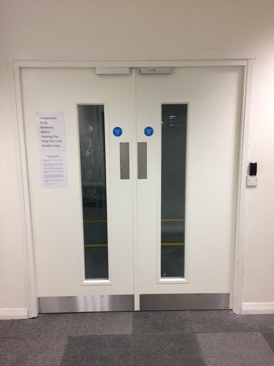 Fire Rated Steel Door Installation in Dartford, Kent