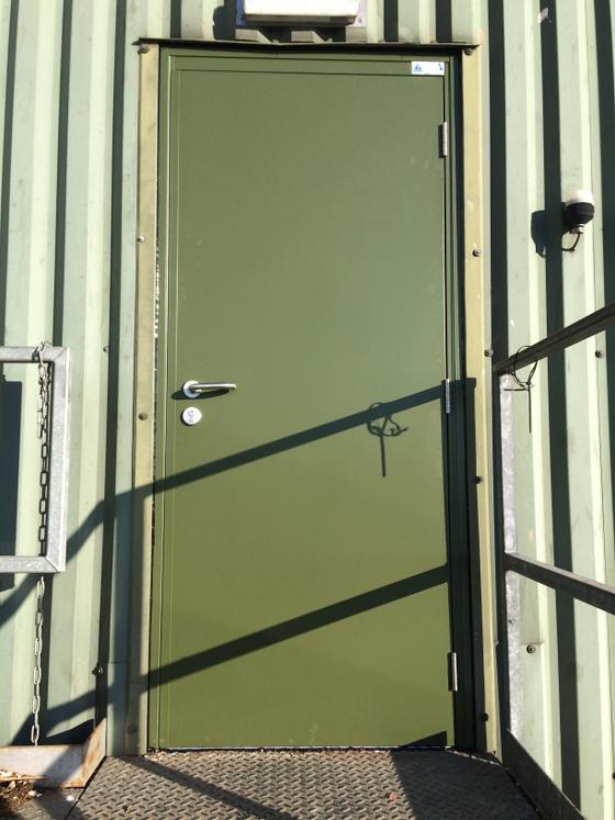 Steel door installation in Lincolnshire