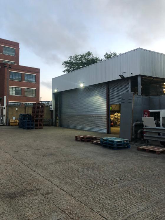 10 Metre shutter installed in Portsmouth