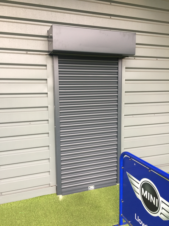 Security Upgrade with Roller Shutters to Local Sports Centre