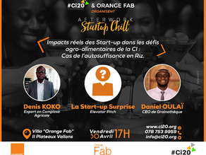 « Startup Chill' » by #Ci20 & Orange