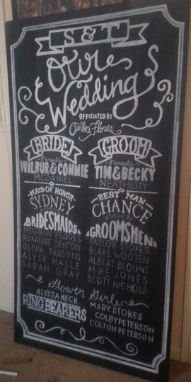McDaniel_Neathery Wedding Program Hand L