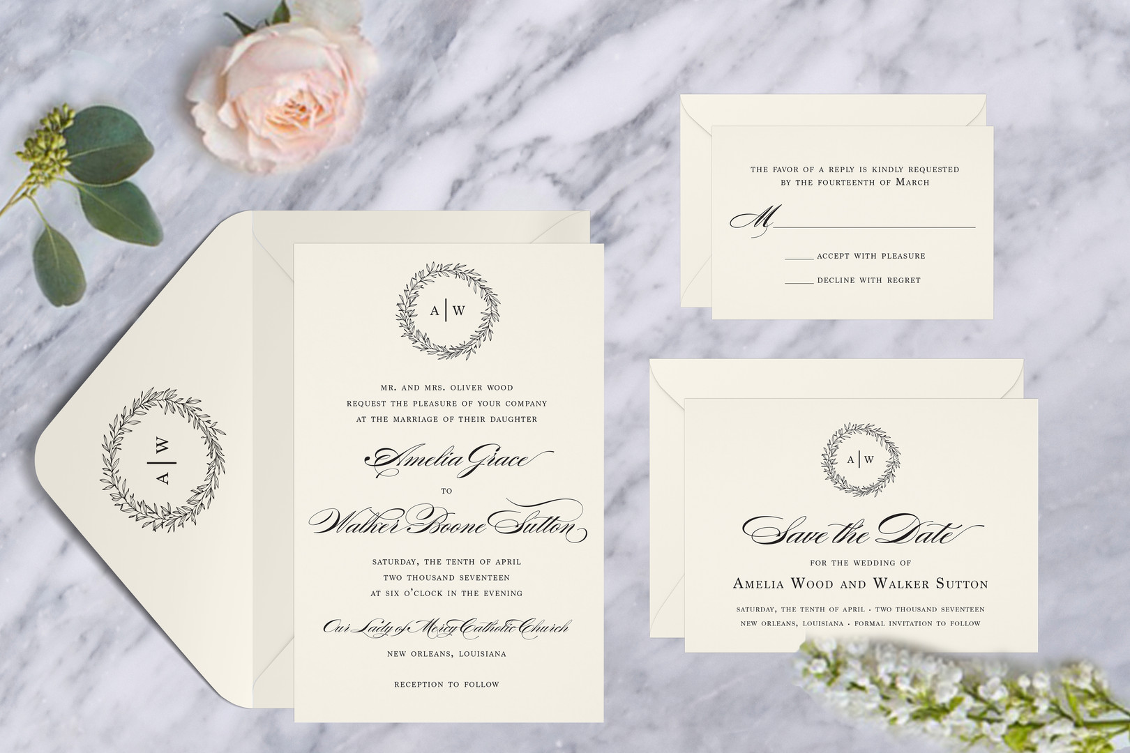 Classic Traditional Wedding Suite