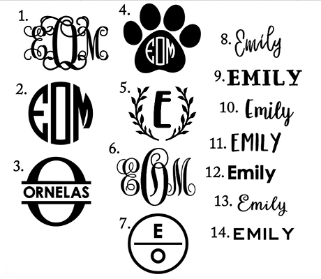 monogram and font options.png