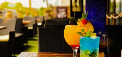Calico Jack cocktails & terrace