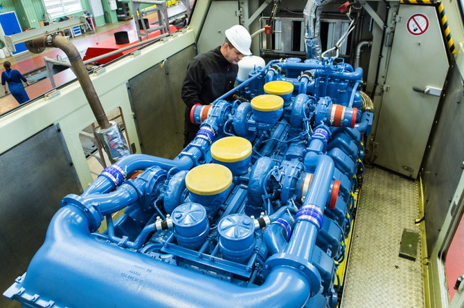 44 x MTU 16V4000R41 engines to be overhauled by Baltic Marine Group