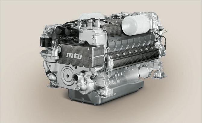 Order of 4 x MTU 16V2000 M94