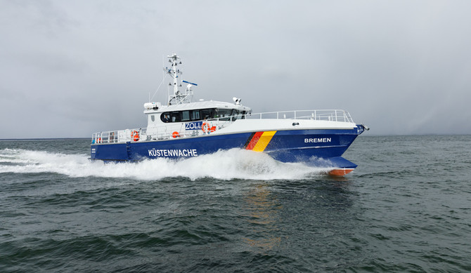 Bremen, Gelting and Darss commissioned