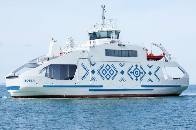 Soela is the latest addition to Estonian ferry fleet