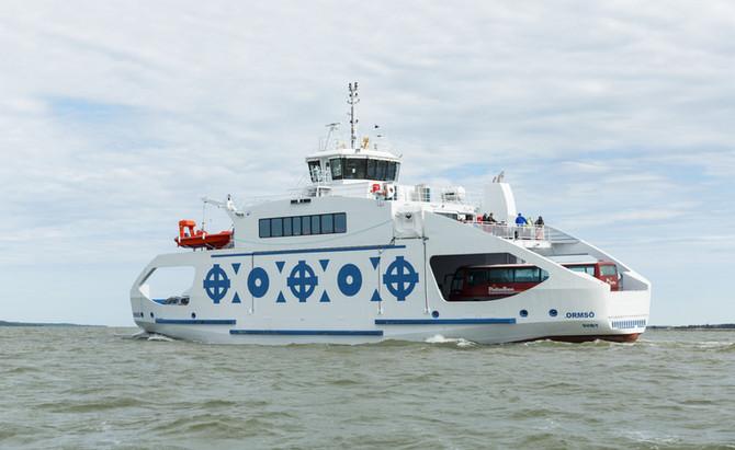 Orsmö enters service