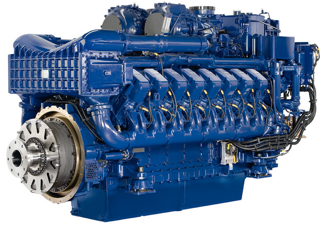 Order of 2 x MTU 16V4000M63 engines and ZF9300 gearboxes