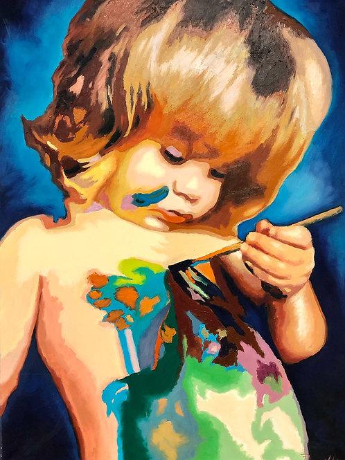 Der kleine Künstler
