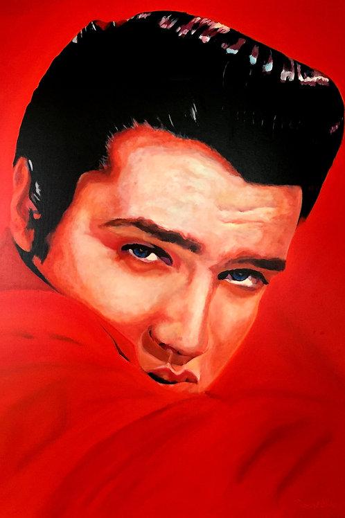 Elvis Presley verträumt