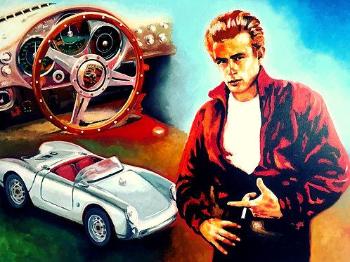 James Dean - Porsche