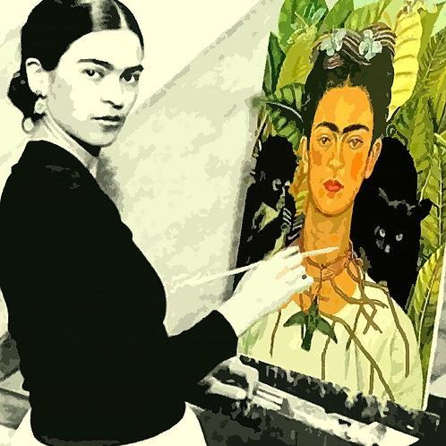 Frida Kahlo - Selbstporträt