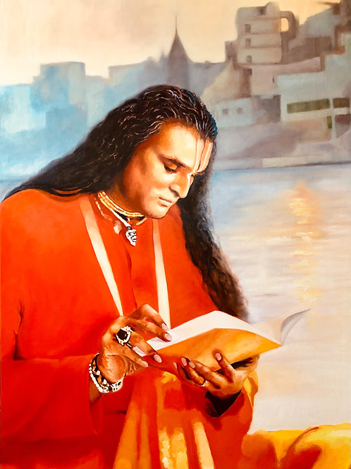 Sri Swami Vishwananda liest