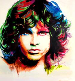 Jim_Morrison_Öl_auf_Leinen__100_x_100_cm