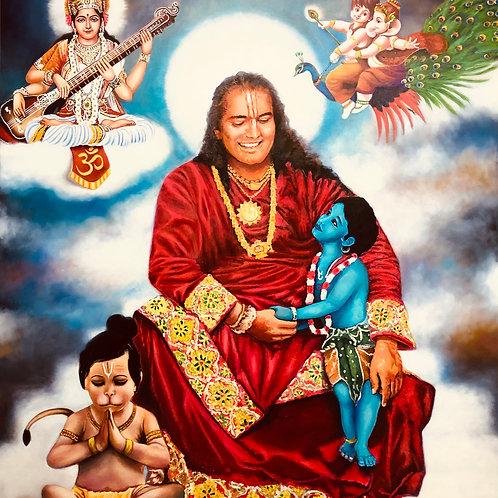 Guruji | Saraswati | Hanuman | Krishna | Ganesha