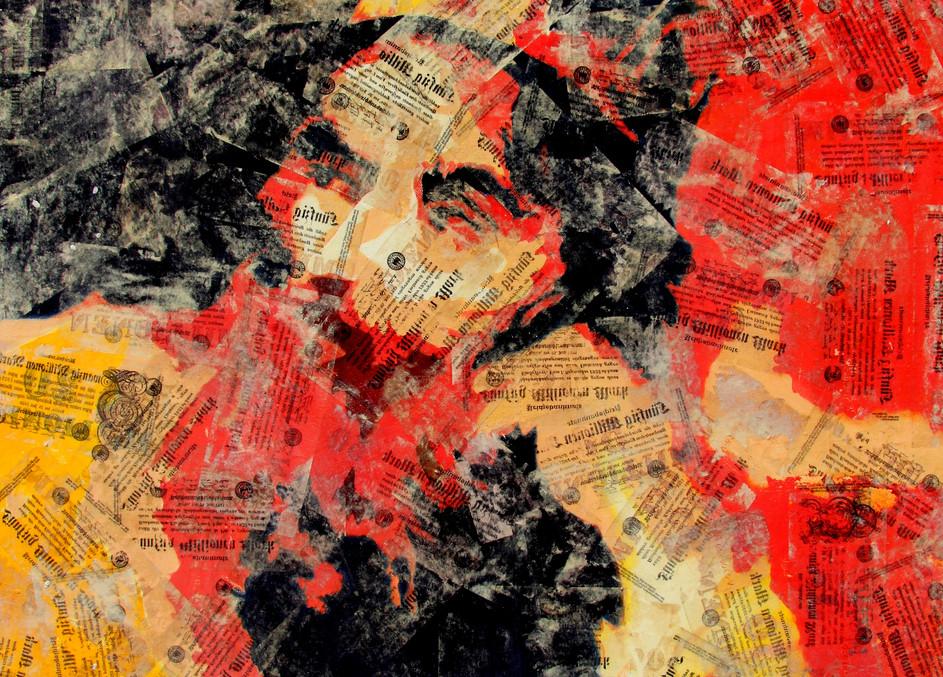 Krösus_Öl_auf_Leinen_(collage)_90_x_100.