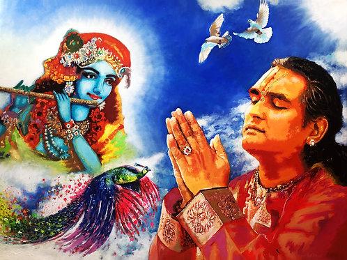 Vishwananda und Krishna