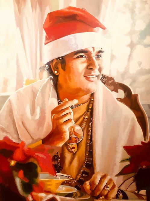 Sri Swami Vishwananda an Weihnachten