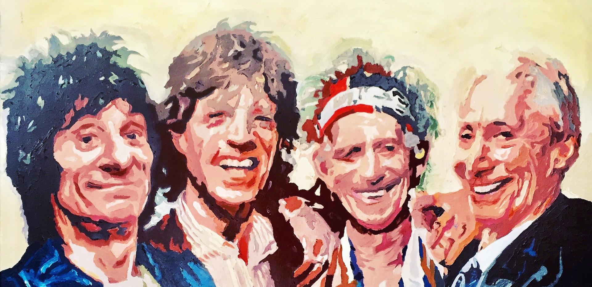 Rolling_Stones_Öl_auf_Leinen_90_x_110_cm