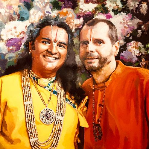 Sri Swami Vishwananda & Swami Madhava
