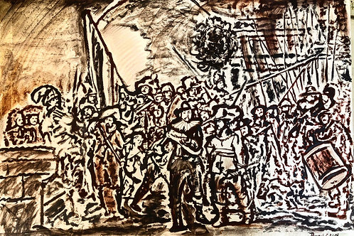 Nachtwache von Rembrand