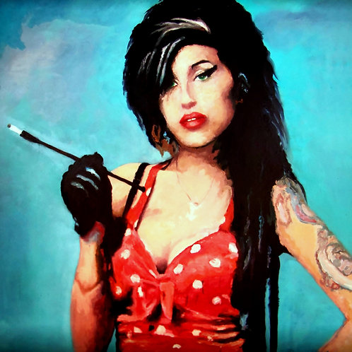 Amy Winehouse smoke