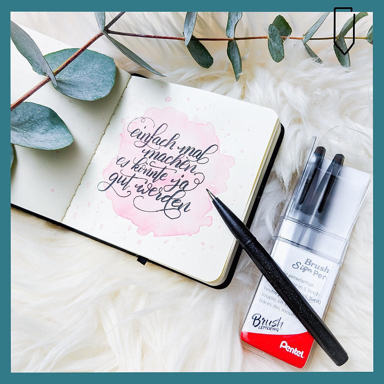 Brush Lettering Workshop Basics