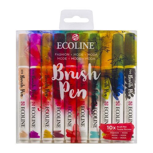 ECOLINE Brush Pen Fashion 10er Set