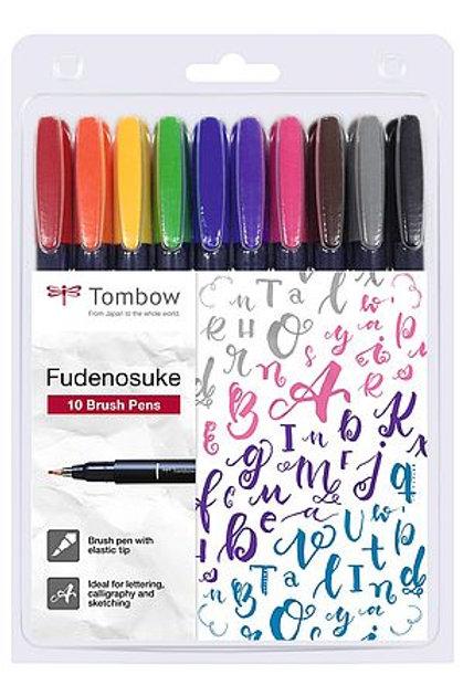 Tombow Fudenosuke 10er Set