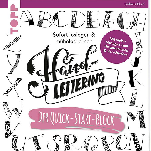 Handlettering. Der Quick-Start- Block