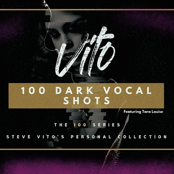 1 - 100 series - Dark Vocal Shots Cover.