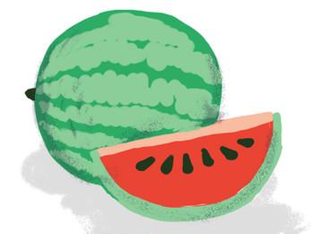 猛暑におすすめ果物ーーー西瓜
