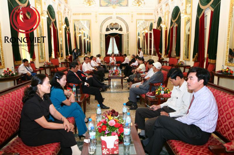 Phòng khách tại hội trường sự kiện - công ty sự kiện Rồng Việt