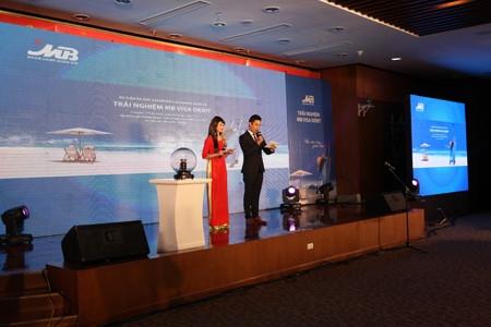 Sự kiện ra mắt thẻ Visa Platinum của Ngân hàng MB