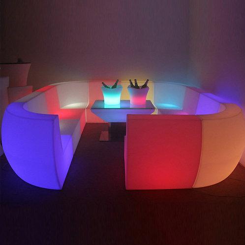 bàn ghế bar led